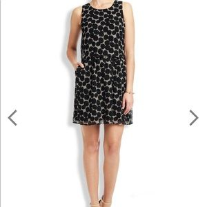 Lucky Brand Layered Spotted Mini Dress W/ POCKETS